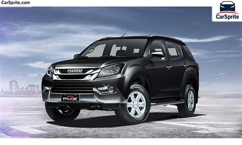 Isuzu Mux Photo by Isuzu Mu X 2017 Prices And Specifications In Saudi Arabia