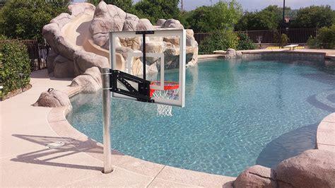 pool champ az hoops arizonas installed basketball goals