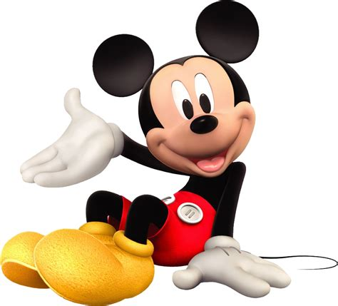 Mickey mouse is a cartoon mouse character who usually wears the white gloves, red shorts and yellow shoes. Download Mickey Mouse PNG Image for Free