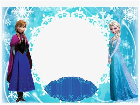 Disney Frozen Anna And Elsa Poster, Png Image