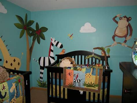 chambre theme jungle nursery muralist spotlight debbie cerone