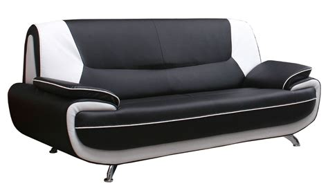 canape cuir blanc design canape 3 places noir 28 images deco in canape 3 places