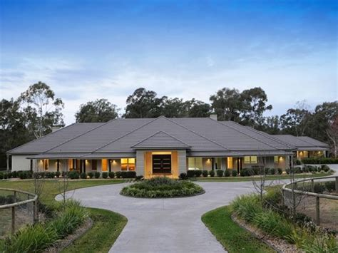 ranch style home wa australia facade house rural house acerage homes