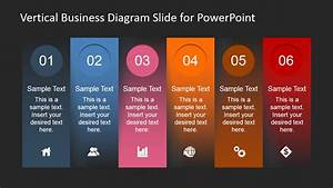 Vertical Business Diagram Slide For Powerpoint