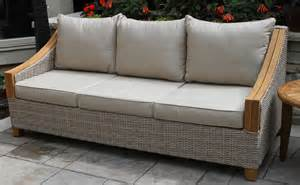 Wicker Outdoor Seating Photo