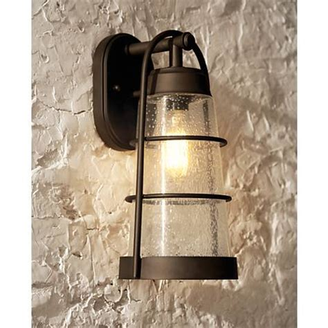 franklin iron works 14 3 4 quot high bronze outdoor wall light