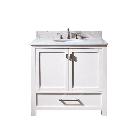 vanity sink tops sale avanity modero 36 inch vanity with carrera white marble