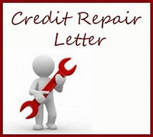 Credit repair letter free letters for Letters to fix credit