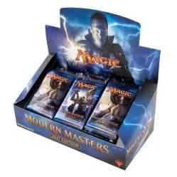 magic the gathering modern masters 2017 edition booster box da card world