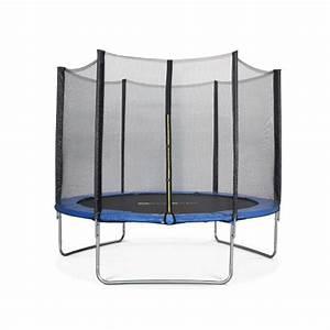 Filet De Protection Jardin : trampoline 305cm mars bleu avec son filet de protection trampoline de jardin 3m 300 cm ~ Dallasstarsshop.com Idées de Décoration