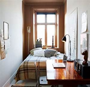 uncluttered small bedroom decorating ideas with brown With how decorate a small bedroom