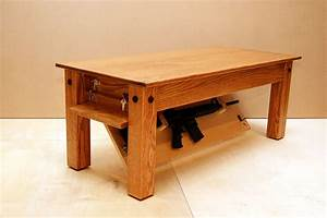 Hide your weapons inside secret compartment of this Oak