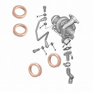 Joint Turbo 1 6 Hdi : 4 joints pour vis banjos de tuyau graissage huile turbo 1 6 hdi ~ Dallasstarsshop.com Idées de Décoration