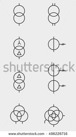 Electrical Symbols Stock Images Royalty Free