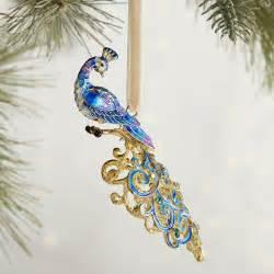 cloisonne peacock ornament pier 1 imports