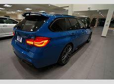 BMW Individual Sportlicher 3er Touring in Laguna Seca Blau