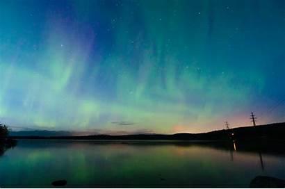 Aurora Sky Northern Stars Night Lights Borealis