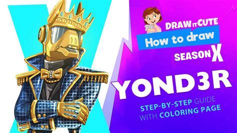 draw yondr fortnite season  step  step
