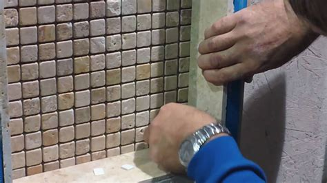 how to install a tile shower shower tile installation how to install glass shelving
