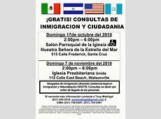 FREE IMMIGRATION & CITIZENSHIP FORUM IN SANTA CRUZ AND