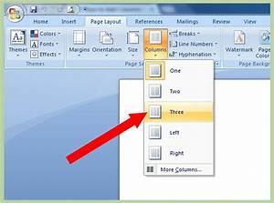 Add Columns In Microsoft Word