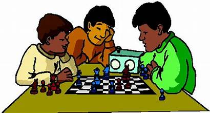 Chess Clip Playing Clipart Social Activities Cliparts