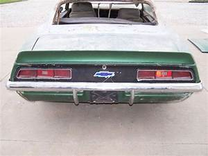 Buy New 1969 Camaro Project Car  Parts Doors  Ss Hood