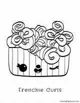 Noms Num Frenchie Coloring Curls sketch template