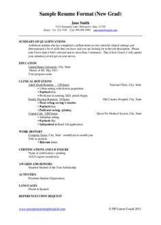 nurse practitioner resume examples pinterest rn
