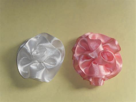 how to make a ribbon making ribbon flowers 4evercrafting