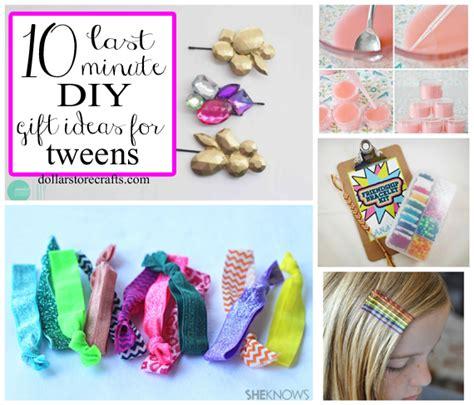 crafts for tweens 10 last minute diy gift ideas for tween 187 dollar Diy
