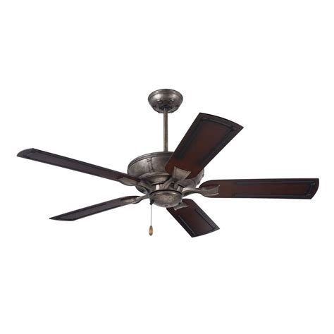 outdoor metal ceiling fans emerson welland 54 in led indoor outdoor vintage steel