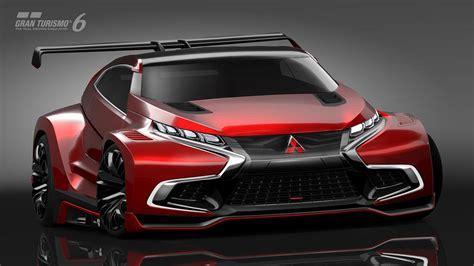 Mitsubishi Concept by Mitsubishi Reveals Concept Xr Phev Evolution Vision Gran