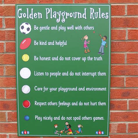 buy playground signboard tts 417 | 1001961 00 PE00571