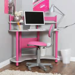 Walmart Glass And Metal Computer Desk by Calico Study Corner Desk Pink