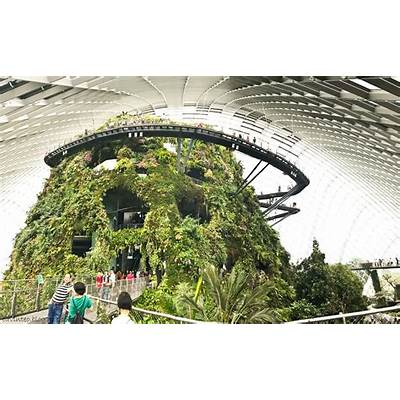 Entree Kibbles: Cloud Forest in 2017 @ Gardens by the Bay