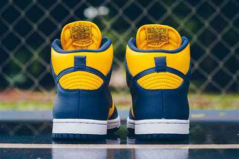 Nike Dunk High UNLV Michigan 2016 | SneakerFiles