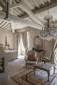 [French Country Kitchen Work Table Romantic Decorating ...