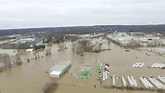 Video of the Meramec River flooding on Gravois Road near ...