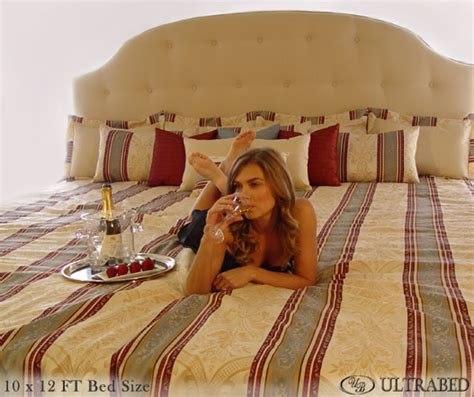 big in bed ultrabed oversized beds high end oversized luxury