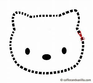hot celebrity pictures With hello kitty cut out template