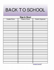 the teacher39s ultimate sign in sheet free by innovative With back to school sign in sheet template