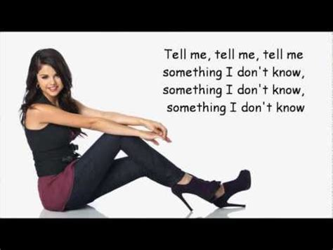 selena gomez     dont  lyrics youtube