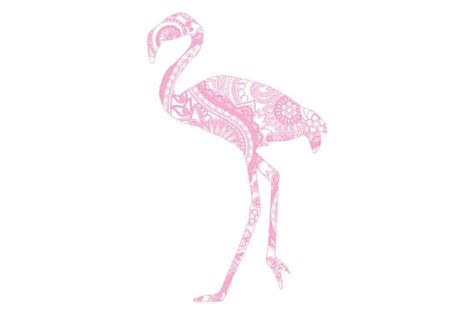 Also you can search for other artwork with our tools. Mandala Pink Flamingo SVG DXF PNG By twelvepapers ...