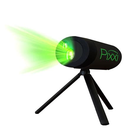 blisslights pixxi green laser holiday animation projector