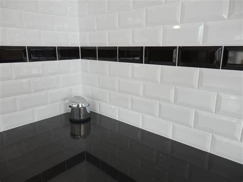 carrelage metro cuisine salle de bain carrelage noir et blanc
