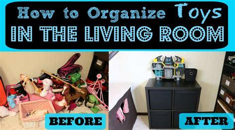organize toys   living room