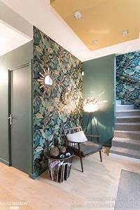 Tendance Papier Peint Couloir : tendance papier peint quoi de neuf pour 2018 2019 chambres pinterest wallpaper wall ~ Melissatoandfro.com Idées de Décoration