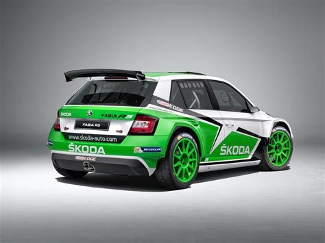 Skoda Fabia R5 Shows Its Competition Colors Wvideo