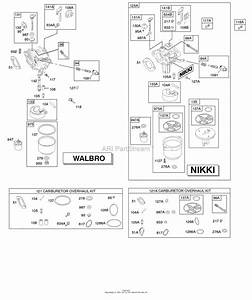 Briggs And Stratton 31l777-0036-g1 Parts Diagram For Carburetor